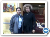 With Angela Davis