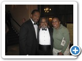 With Donald Harrison & Dad