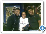 With Rickey Lawson & Reggie Hamilton